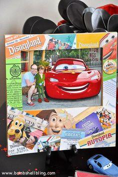 Disney Ticket Stub Frame