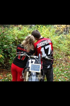 Dirt bike love. He stole my heart so I'm stealing his last name. Motocross rep jerseys