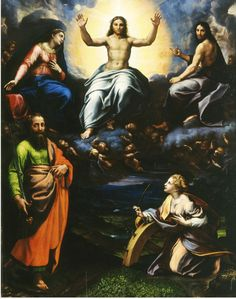 Deesis dal convento di San Paolo a Parma. Galleria Nazionale di Parma