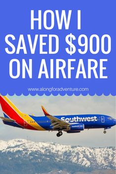 Getting the Cheapest Southwest Flights: Travel Hack - Travel tips - Travel tour - travel ideas Travel Gadgets, Travel Hacks, Travel Tips, Travel Ideas, Work Travel, Travel Stuff, Travel Goals, Travel Bag, Cheap Travel