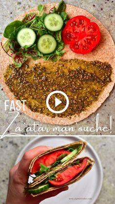 Breakfast Tortilla, Breakfast Recipes, Tasty Videos, Food Videos, Raw Vegan Recipes, Healthy Recipes, Whole Food Recipes, Cooking Recipes, Plant Based Whole Foods