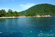La plage du Coral View , excellente pour le snorkeling ! #Malaisie #Malaysia #asia #asie #voyage #travel #trip #perhentian #island #ile #plongée #scubadiving #diving