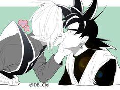 Zamasu and Black kissss