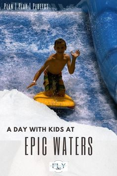 This indoor waterpark will provide thrills and chills year-round in Texas. Click here to read four Epic reasons to visit Epic Waters