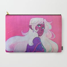 Space Princess Carry-All Pouch