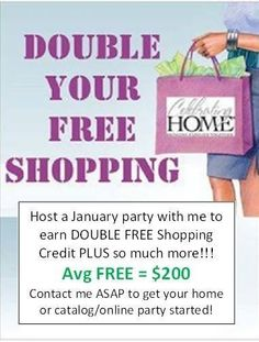 FREE home decor and jewelry in January! Like me on Facebook -- Celebrating Home with Danyelle Baker