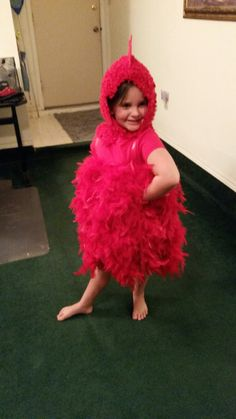 Little Red Hen Costume