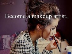 Take a class in makeup for stage