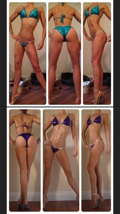 3 weeks out from nationals UKBFF april 2015 vs april 2014