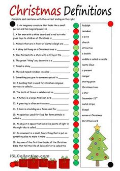 Students write definitions on the lines. - ESL worksheets