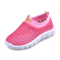 Kensbuy Summer Unisex Breathable Slip Mesh Casual Light Weight Sneakers For Walking,Running,Outdoor,Playing EU27 Pink. pink can be more that just pretty,it goes from girlish to grown-up and becomes unexpected chic. Pure blue show a kind of beatiful and calm,wise,serene and vast. Elastic Closed Way: Convenient And Comfortable Easy Off. Children and baby wear no hurt, very comfortable. For the Season:Summer,Spring/Autumn.