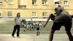 Idea 1: Nice advert, a bit long but some ideas of shots (Messi Vs Kids - Funny Football Commercial | FIFA World Cup 2014)