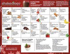 Chocolate Shakeology recipes www.findshake.com