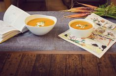 Grown ups' soup and kids' soup to fill your tummy and keep you warm this winter. Part of Brockhole café's winter menu. Thanks to Tiree Dawson Photography for the photo.
