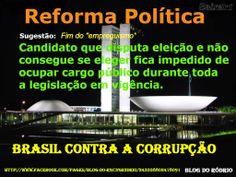 EM SINTONIA: REFORMA POLITICA.