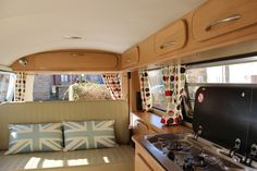 camper with quilts inside - Google Search