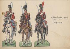 Legion Portuguese Cavalry Trumpeter, Colonel & Brigadier 1810-12