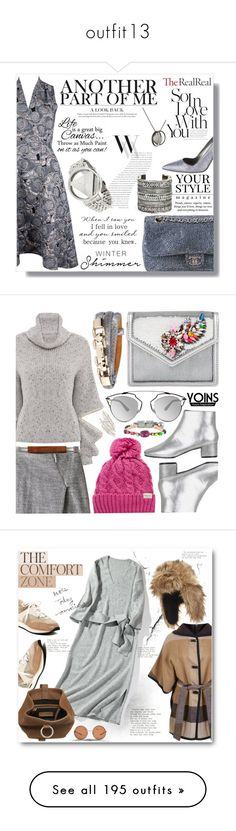 """""""outfit13"""" by ceci-alva ❤ liked on Polyvore featuring Chanel, Pussycat, Closet, WALL, Manolo Blahnik, Balenciaga, Miss Selfridge, Sole Society, Werkstatt:München and Shourouk"""