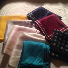 Squares for Suit Pockets. 8 in total. Squares for Suit Pockets. Add some class to your wardrobe, add a square to a suit pocket and dress it up. 8 in total as one package. Accessories Scarves & Wraps