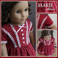 Gallery | American Girl Dress, American Girl Crafts, American Doll Clothes, Ag Doll Clothes, Crochet Doll Clothes, American Girls, Doll Dress Patterns, Sewing Patterns, Frocks For Girls