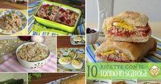 Ricette con il tonno in scatola: 10 piatti semplici e veloci che ti salvano la cena! Avere un po' di tonno in scatola in dispensa è una salvezza. Se non hai tempo per fare la spesa ecco 5 primi piatti e 5 secondi con il tonno facili e gustosi.
