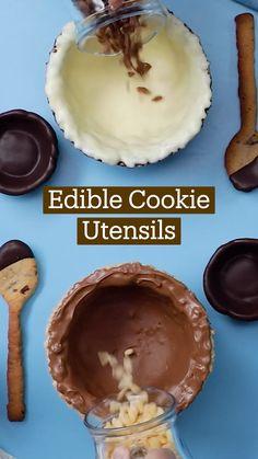 Fun Baking Recipes, Sweet Recipes, Dessert Recipes, Cooking Recipes, Delicious Desserts, Yummy Food, Creme Dessert, Yummy Eats, Chocolate Chip Cookies