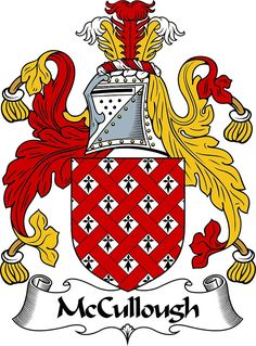 McCullough Coat of Arms / McCullough Family Crest by ScotlandForever