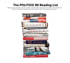 The smartest minds in politics name the best books they read this year.