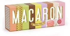 A menagerie of flavors and colors abound in this matching game featuring the beloved macaron! With 60 beautifully illustrated game pieces nestled in an eye-catching package that captures the essence of a macaron box, tweens, teens, and macaron aficionados of all ages will relish this treat of a game!