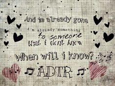 """A day to remember<3 """"I'm already gone"""""""