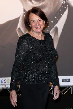 Francoise Arnoul lors de la soirée d'ouverture du Festival Lumière à Lyon et l'hommage à Jean-Paul Belmondo au sein de la Halle Tony Garnier, le 14 octobre 2013.