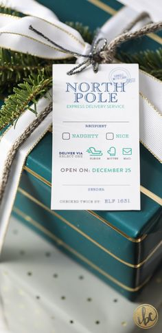 FREE Printable Christmas gift tags #holiday #christmas #gifttags #printable