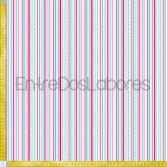 Tela de patchwork Riley Blake Mod. Sweetcakes stripes white.