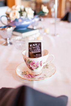 Mat and Kim's Alice in Wonderland-Inspired Wedding