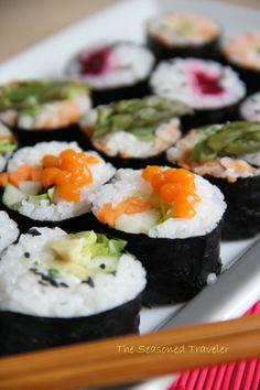 Vegetarian Sushi, Maki-Style