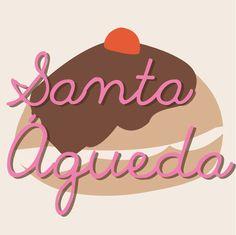 """Hoy es 5 de #febrero, Santa #Águeda, """"la Protectora de las #Mujeres"""""""