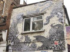 Lily Mixe, Hanbury Street, E1. | 26 Stunning Street Art Murals In East London