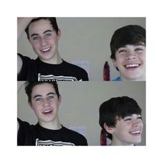 Nash Grier and Hayes Grier and Will Grier and Skylnn Grier ❤ liked on Polyvore featuring magcon