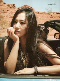 SNSD, Girls Generation in Las Vegas Photobook Yuri