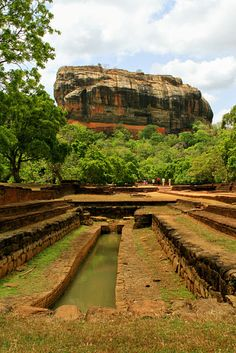 Sigiriya is located in the central Matale District of the Central Province, Sri Lanka in an area dominated by a massive column of rock nearly 200 meters high. According to the ancient Sri Lankan chronicle the Culavamsa the site was selected by King Kasyapa for his new capital.
