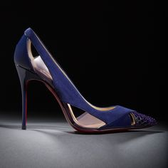 """I love the purple of the Galata. There is something very sensual about the color."" -Christian Louboutin"