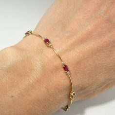 Great deals now for diamond bangle bracelet. Ruby Bangles, Ruby Bracelet, Diamond Bracelets, Silver Bracelets, Jewelry Bracelets, Ankle Bracelets, Braclets Gold, Crystal Bracelets, Gold Bangles Design