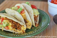 Homemade Beef Tacos Homemade Beef Tacos (no seasoning packets!) – America's Test Kitchen Recipe Related posts: Barbacoa Beef Tacos with Homemade Tortillas Quesadillas, Burritos, Taco Bell, Taco Ingredients, Ground Beef Tacos, Mexican Food Recipes, Ethnic Recipes, Lunch Recipes, Bulgogi