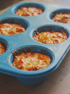 """These Spaghetti Pie Muffins are an adaptation of my recipe for """"Spaghetti Pie"""" the casserole. They are just delicious. You can, of ..."""