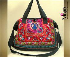 Miya's Original Ethnic Hmong Embroidered Bag by MiyasEthnicBags