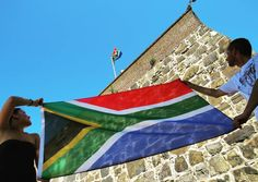 Two of a Kind at the Castle of Good Hope Cape Town.  #Africa #SouthAfrica #CapeTown #lovecapetown #castle #castleofgoodhope #instacapetown #lovecapetown #southafricanflag #wavetheflag #castle #heritage #Wanderlust #capetownmag by going_somewhere_slowly