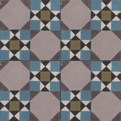 Moroccan Encaustic Cement Pattern 08a | £2.89 | Moroccan Encaustic Cement Pattern Tiles | Best Tile UK | Moroccan Tiles | Cement Tiles | Enc...