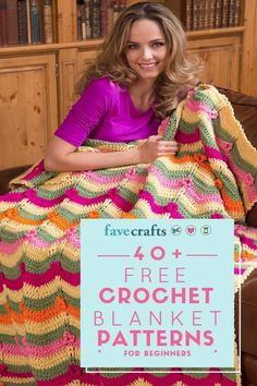 Whether you're looking for free baby blanket crochet patterns or free crochet blankets for the winter season, you're sure to find a project that captures your style.
