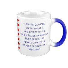 American Citizenship Flag Mug. Design by Mug_Designs_by_Janz