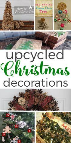 Upcycled Christmas D